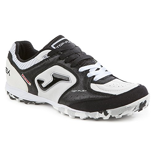 Joma topw _ 702 _ TF Football Shoes Top Flex 702 Turf bianco-nero White-Black outlet online ZuDG0q8ya