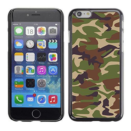 "Premio Sottile Slim Cassa Custodia Case Cover Shell // V00002747 Camouflage // Apple iPhone 6 6S 6G PLUS 5.5"""