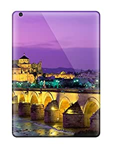 Perfect Fit BYDWbGQ9810knWOC Roman Bridge Guadalquivir River Spain Case For Ipad - Air