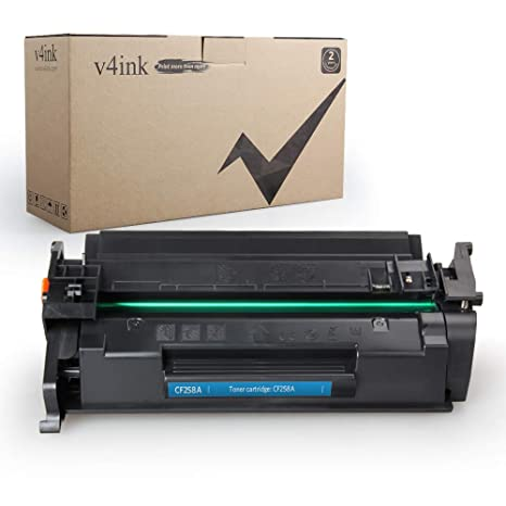 v4ink Compatible Toner Replacement for HP 58A CF258A, to use for HP Laserjet Pro M404n M404dn M404dw, Laserjet Pro MFP M428fdw M428fdn M428dw, HP M304 ...