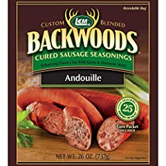 LEM Backwoods Cured Sausage Seasonings are packaged with a cure packet included. You never have to purchase anything extra when you buy our blends. Each package has easy-to-follow instructions on how to make mouth watering sausage every time....