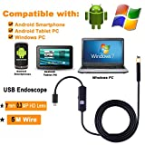 HD Android OTG USB Endoscope Camera 7mm 5M 3.5M 2M 1M Flexible Snake USB Pipe Inspection Borescope Android USB HD Camera