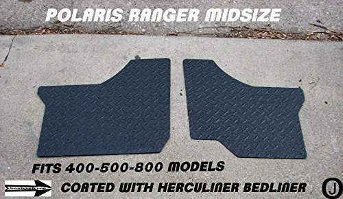 Polaris Ranger Black Mid-Size 400-500-800 Diamond Plate Floor Boards