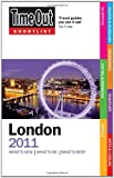 Time Out Shortlist London 2011, Time Out Guides Staff, 1846701627