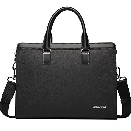 BISON DENIM Briefcase Business Messenger