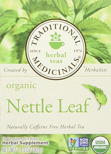 Traditional Medicinals Organic Nettle Leaf 16 Tea Bags (Pack of 2) ()