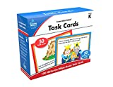Carson-Dellosa Task Cards Learning Cards Grade K