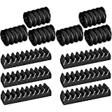 LEGO Technic NEW 12 pcs BLACK WORM AND RACK GEAR SET Screw Track Kit Part Piece Mindstorms NXT robot robotics assortment pack ev3 motor