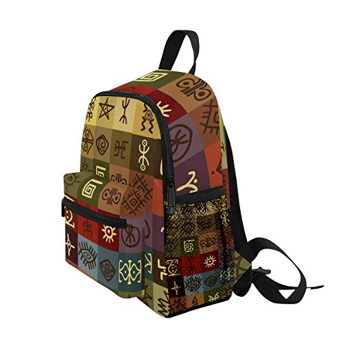 Bag Backpack Girls Kindergarten Ethnic School Boy Pre African Kids Toddler Tribal Egyptain ZZKKO for qUpX8Ow