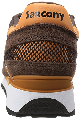 Saucony Baskets Fitness pour homme Marron / Orange uq1XpsX