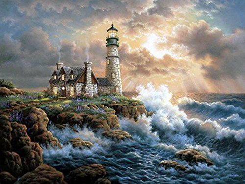 painting lighthouse - 8