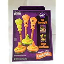wilton Halloween Broom and Witches candy/cookie/pretzel creating kit