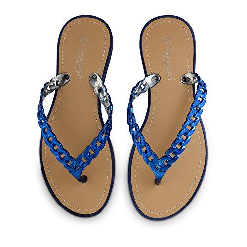 Footwear Sensation - Sandalias para mujer Azul - azul real