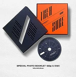 KQ ENTERTAINMENT ATEEZ - Treasure EP.1 All to Zero Album CD+Photo Booklet+Folding Poster
