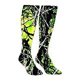 Moonshine Toxic Camo Green Athletic Socks Knee High Socks For Men&Women Warmer Stockings Sport Long Sock Tube Long Stockings Casual Socks