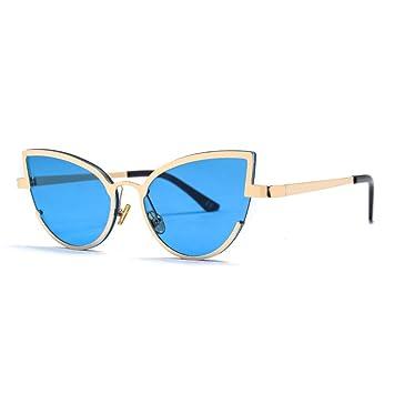 HYUHYU Ojo De Gato Gafas De Sol De Mujer Gafas De Sol ...
