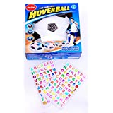 """Air Power Soccer Football, Disk Hover Ball for Indoor Games with Colorful LED Light's. """"Put Your Favorite Team or your NAME on the Ball"""" [Special Stickers Included] Kids Toys Gifts, Age 3, 4, 5 +"""