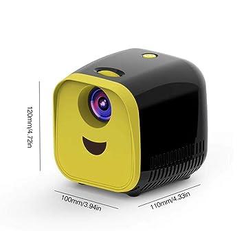WHLDCD Proyector Nuevo Mini Proyector WiFi USB Niños ...