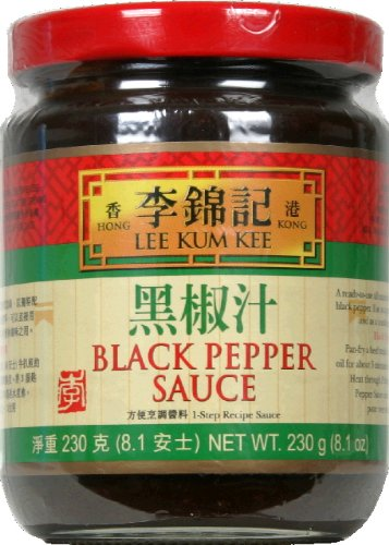 LKK Black Pepper Sauce 8.1 Oz -