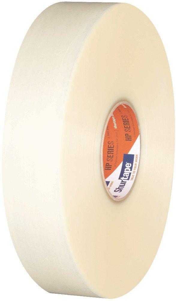 Shurtape HP 100 General Purpose Grade Hot Melt Packaging Tape, 48mm x 914m, Clear, Case of 6 Rolls (208453)