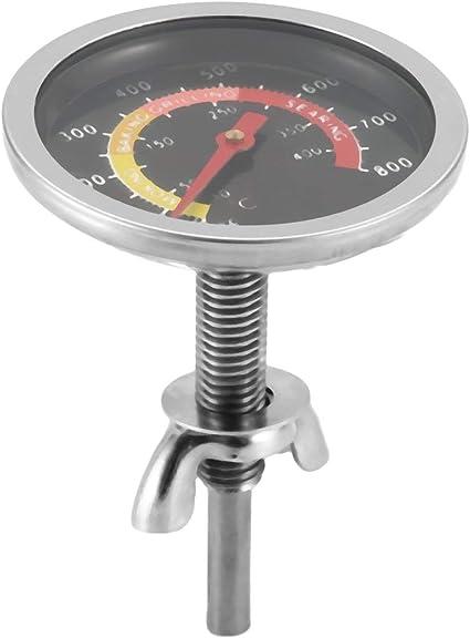 Argento nbvmngjhjlkjlUK Termometro da Forno in Acciaio Inossidabile Calibro termometro da Forno BBQ Grill Cucina Termometro Cozinha Strumento di Cottura elettronico