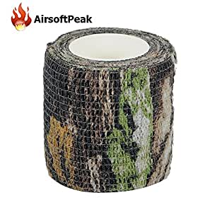 amazon tape camo camouflage wrap gun form grip stretch hunting tapes army