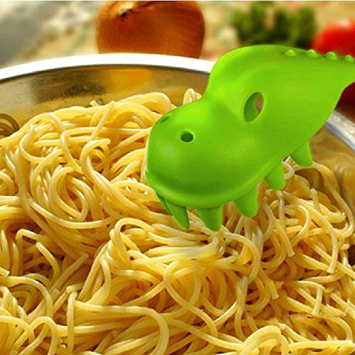 Pastasaurus Pasta Server / Dinosaur Spoon for Spaghetti / Dinosaur Spoon Kitchen Utensil by Perpetual Kid Charmed GKI-024#GN