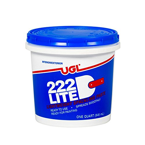 UGL 1 qt. 222 Lite Spackling Paste (2-Pack) ()