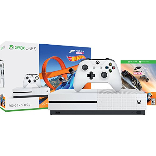 Video Games : Xbox One S 500GB Console - Forza Horizon 3 Hot Wheels Bundle