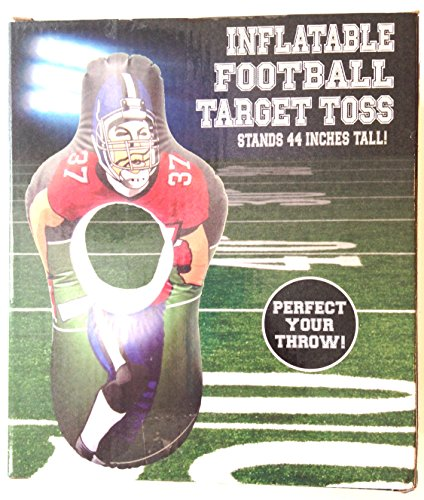 Five Below Inflatable Football Target Toss 44 Inches Tall -