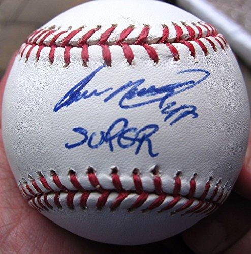 Supernova Single (Ivan Nova Yankees single signed baseball Super Nova Inscription JSA WITNESS COA)