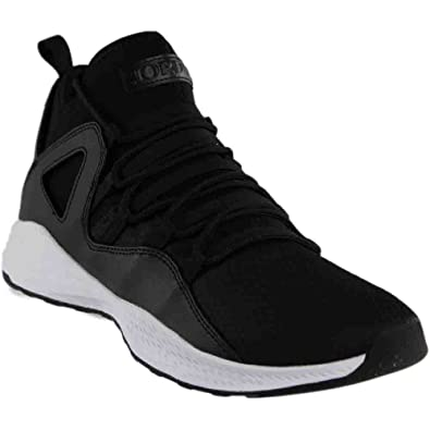 Jordan Mens Formula 23 Black Black White Size 8 dc1c42cd2