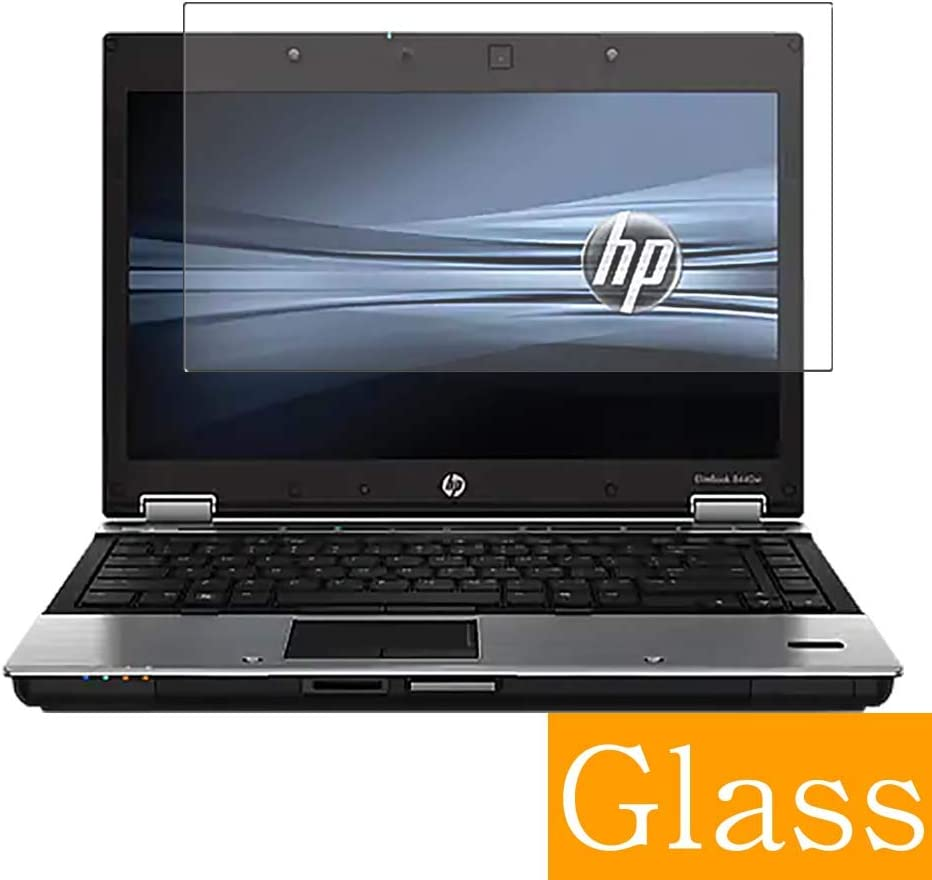 """Synvy Tempered Glass Screen Protector for HP EliteBook 8440p 14"""" Visible Area Protective Screen Film Protectors 9H Anti-Scratch Bubble Free"""