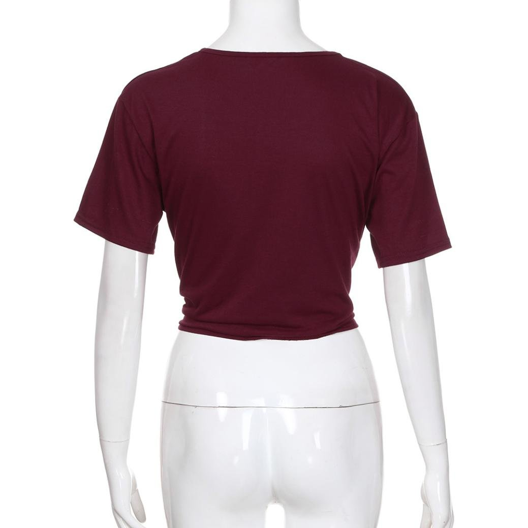 Lilicat Frauen Sommer Tank Tops Damen /Ärmellos T-Shirt Casual Bluse Elegant Oberteile Mode Hemd Lose V-Ausschnitt Cami Weste Unterhemd Longshirt Kurz Tr/ägershirts Off Shoulde Camisole
