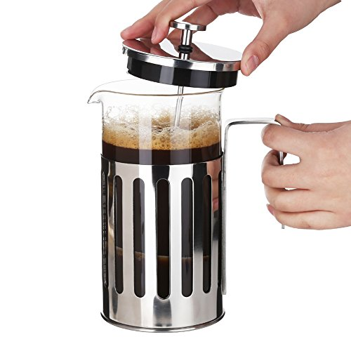 French Press Coffee Maker Problems : 3E Home 23-2600 French Presses Coffee Maker New and Improved Stainless Steel Tea Maker with ...