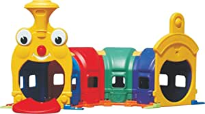RBWTOYS. Indoor/Outdoor Play Caterpillar Tunnel Playground For Kids Activity rbwtoy16315. Multi color play house size: 240x100x106cm.