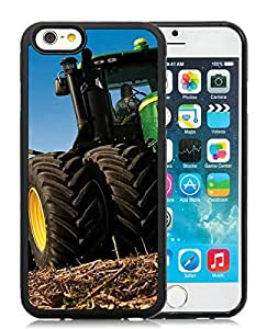 john deere Black iPhone 6 4.7 inch TPU Cellphone Case Unique and Fashion Cover