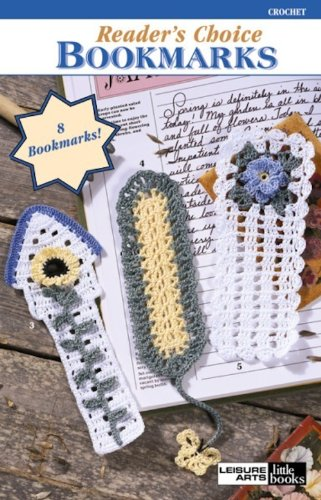 Reader's Choice Bookmarks (Crochet Bookmarks)