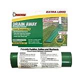 Frost King DE300 Standard Plastic Drain Away Downspout Extender, Extends 12', Green
