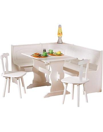 Tavolo Con Panca Angolare Mondo Convenienza.Amazon It Panche Ad Angolo Casa E Cucina
