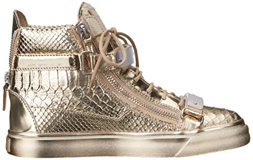 Metallic High Top Womens Platino Print Fashion Zanotti Giuseppe Golia Sneaker 6qn4Rx