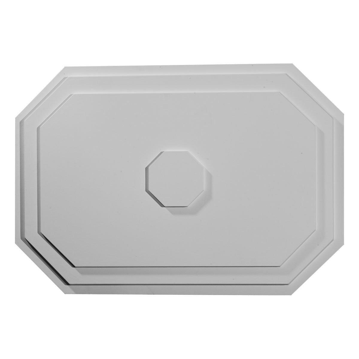 Ekena Millwork CM25FE 25 1/4-Inch W x 17 1/4-Inch H x 1 3/4-Inch P Felix Ceiling Medallion