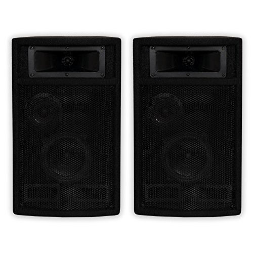 Acoustic Audio by Goldwood Acoustic Audio PA-500X Passive 800 Watt 3-Way Pair DJ PA Karaoke Studio Speakers