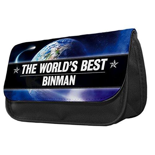 World s Best binman Bleistift Fall/Make-up Tasche 021