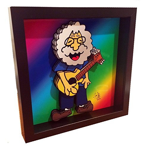 Jerry Garcia Art The Grateful Dead 3D Pop Art Print - La Gardia