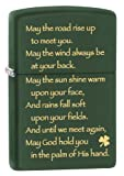 Zippo Irish Blessing Pocket Lighter