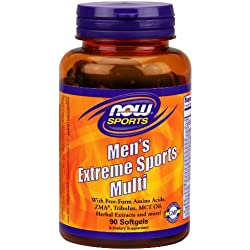 NOW Sports Men's Extreme Sports Multi,90 Softgels