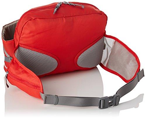 Vaude Big Waterboy Borsa a Cintura per le Escursioni Sportive in Montagna, Unisex �?Adulto, Energetic Red, Taglia Unica