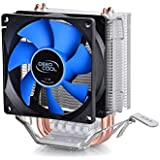 Cooler Gamer Intel LGA1156/1155/1150/775 AMD Fm2/Fm1/Am3+/Am3/Am2+/Am2/940, Deepcool, Ice Edge Mini Fs V2.0