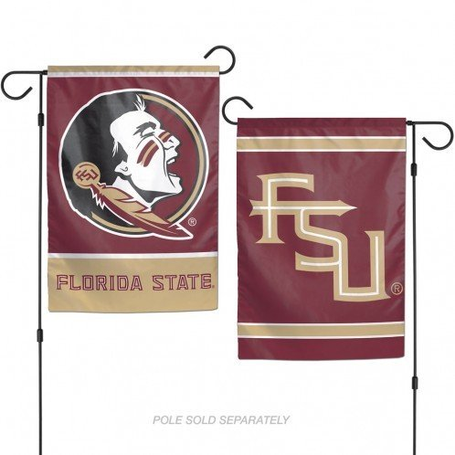 "Florida State Seminoles 12""x18\"" Garden Flag - Red"
